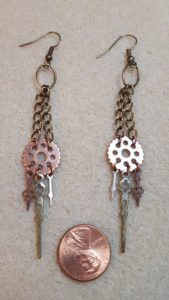 Steampunk Earrings I