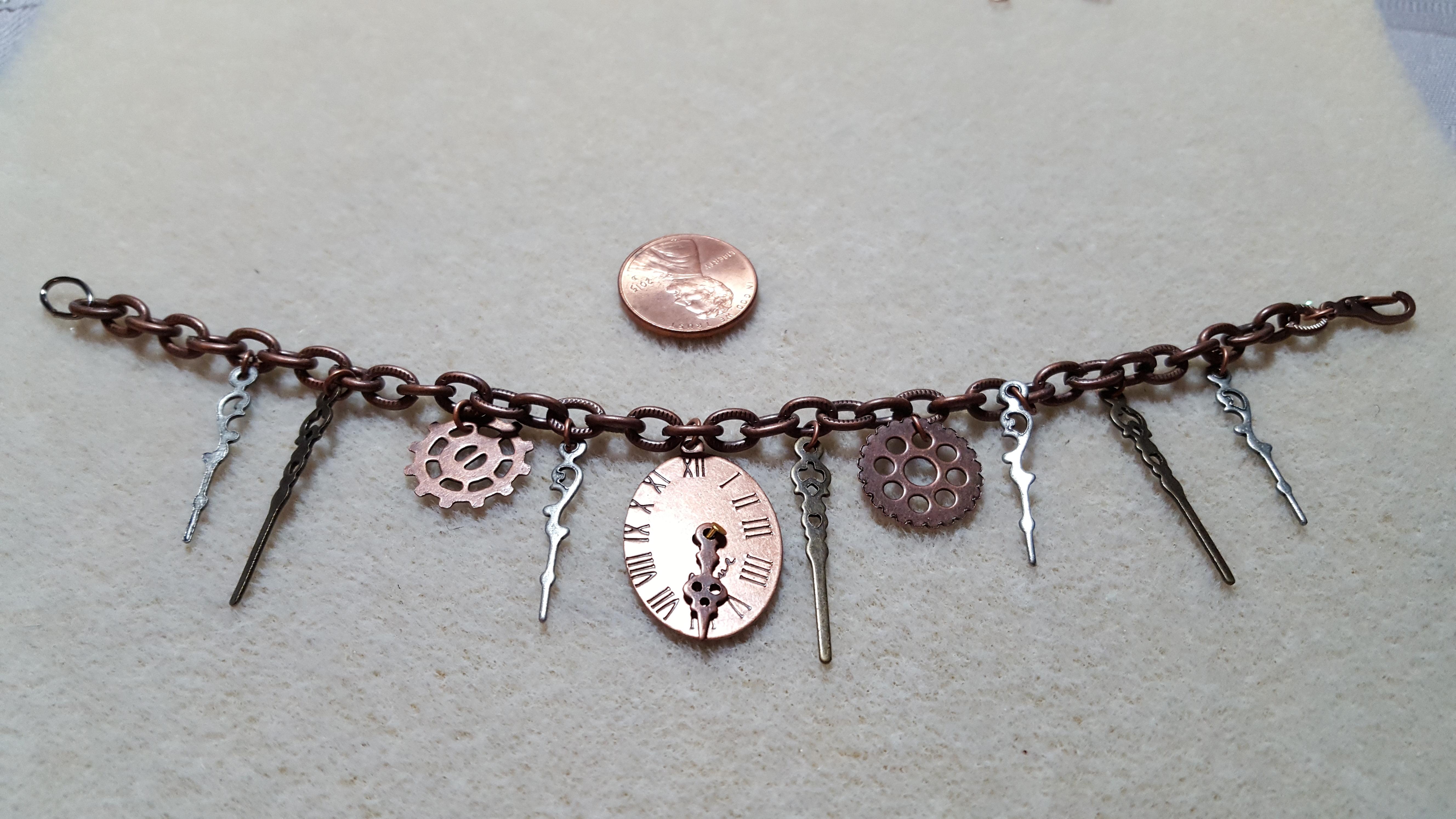 Broken Clock Bracelet